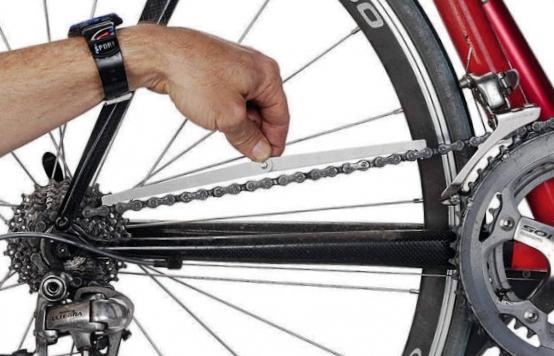 линия цепи велосипеда