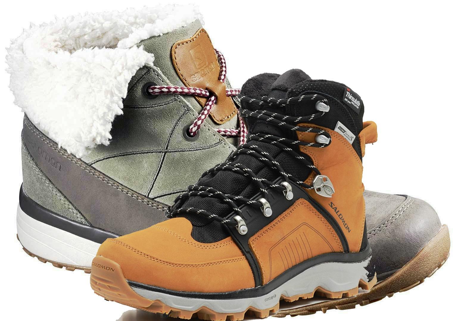 стопа в лыжном ботинке