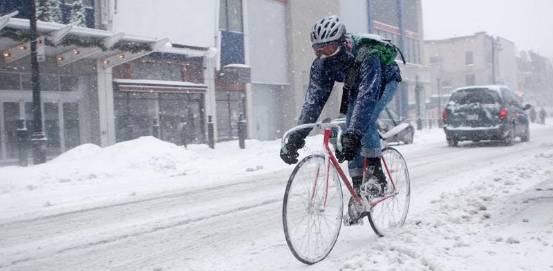 Мифы и правда о зимнем катании на велосипеде