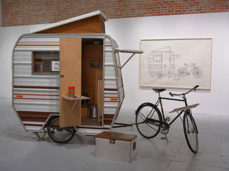 Велокемпер или путешествие с домом на колёсах