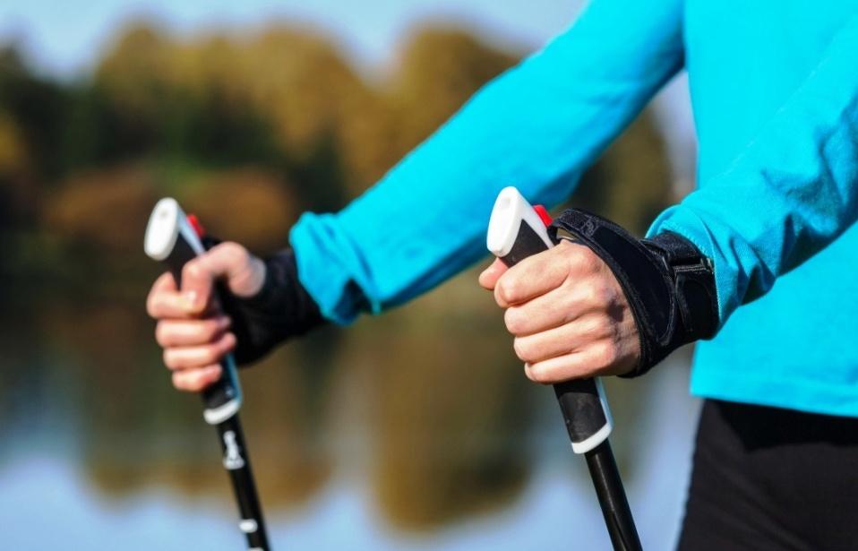 как правильно держать палки для скандинавской ходьбы