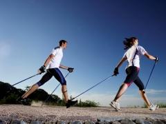 Скандинавская ходьба: плюсы и минусы