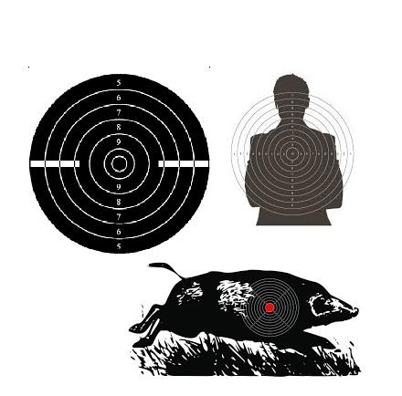 мишени для стрельбы из пневматического оружия