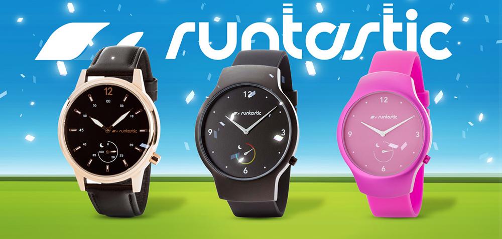 Спортивные часы Runtastic