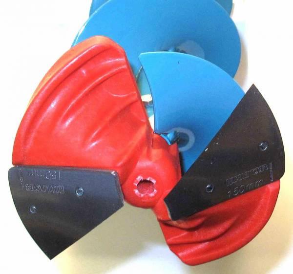 Ледобур UR-Rapala диаметр 155 с композитной головой UREG155