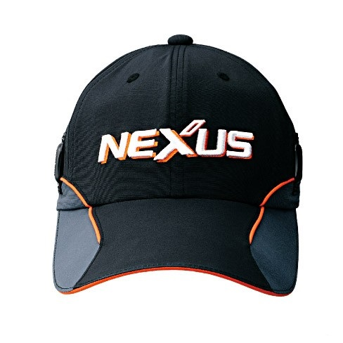 Кепка NEXUS CA-131K Чёрная размер KING (61 см) CA-131KK