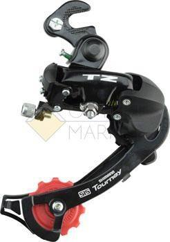 Переключатель задний Shimano Tourney TZ500 ERDTZ500GSB