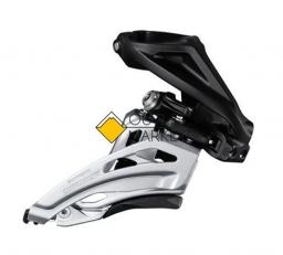 Переключатель передний Shimano Deore M6000-H 3x10 скоростей верхний хомут