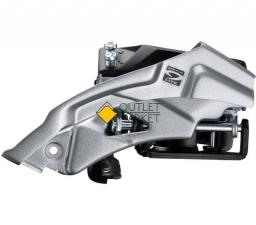 Переключатель передний Shimano Altus M2000 3x9 скоростей нижний хомут