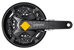 Система Shimano MT100 175 мм квадрат 40/30/22T под 9 скоростей