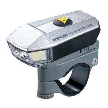 Фара передняя AeroLux 1W с крепл.на руль зарядка USB