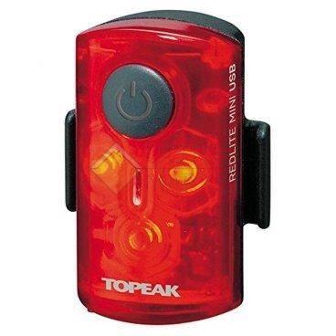 Задний габаритный фонарь с зарядкой TOPEAK RedLite Mini USB