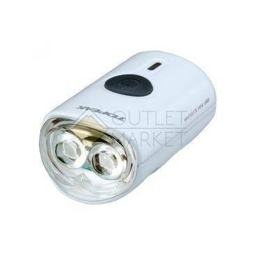 Передний габаритный фонарь с зарядкой TOPEAK WhiteLite Mini USB, белый