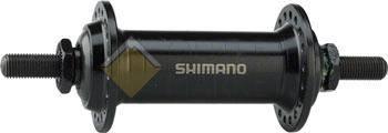 Втулка передняя Shimano TX500 v-br 32 отверстия черная