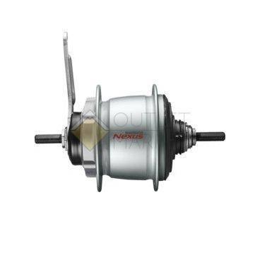 Втулка планетарная Shimano Nexus C6001 36 отверстий 8 скоростей ножной тормоз 132x184 мм Серебро