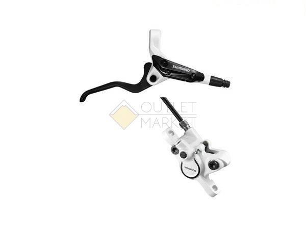 Тормоз дисковый Shimano M365 BL правый/BR задний под пластик 1700 мм белый
