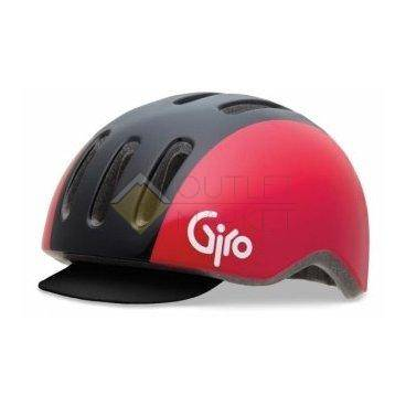 Велошлем Giro, REVERB black/red retro