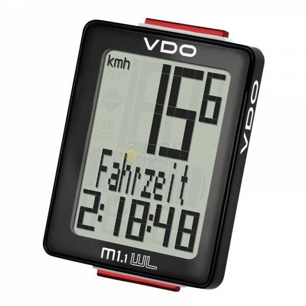 Велокомпьютер VDO M1.1WL 4-30015