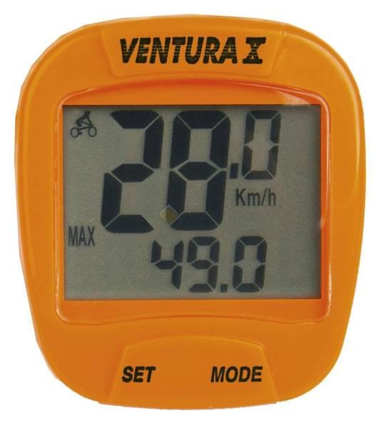 Велокомпьютер VENTURA Х  оранжевый