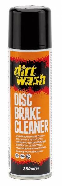 Очиститель дисковых тормозов спрей 250мл DIRTWASH DISC BRAKE  WELDTITE 7-03029
