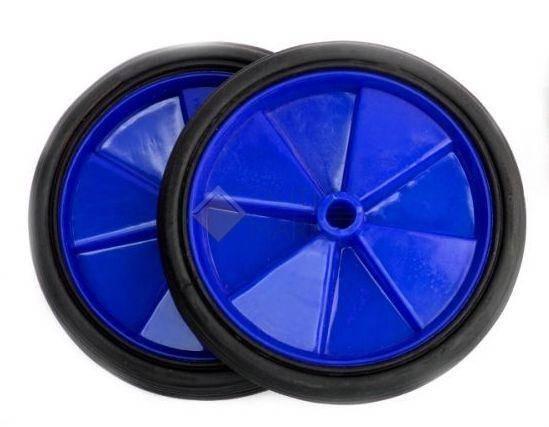 Колеса балансирные синие
