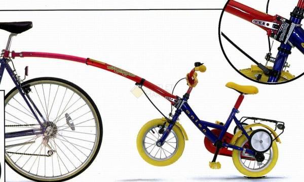 Крепление-прицеп для детского велосипедаTRAIL-GATOR