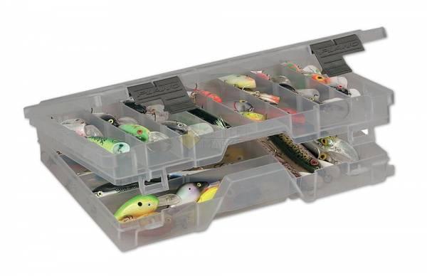 Коробка Plano 4700-00 (3600) для приманок двухуровневая13-45 отсеков
