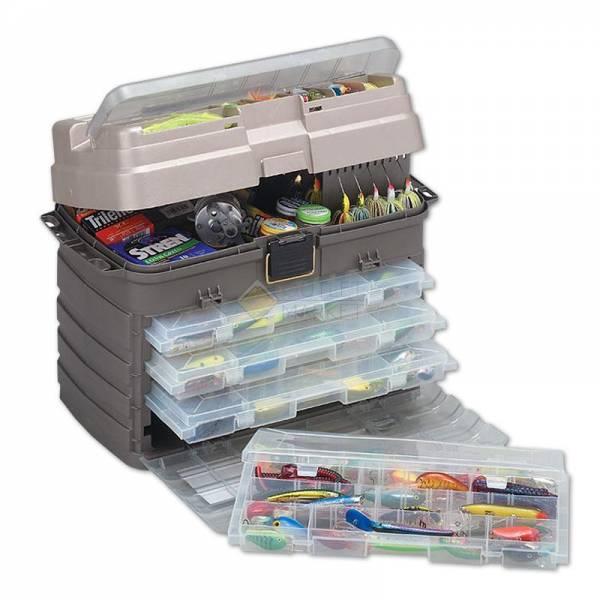 Ящик Plano 7592-01 с 4-мя коробками большой отсек для хранения аксессуаров