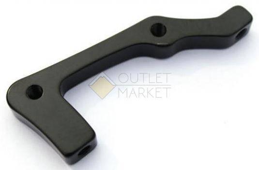 Адаптер CLARK`S для дискового тормоза алюминий задний CB-6065BLK-203RIS 203мм черный