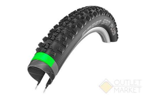 Покрышка Schwalbe 29x2.25 (57-622) SMART SAM PLUS G-Guard SnakeSkin Performance B/B-SK HS476 Addix 67EPI 35B