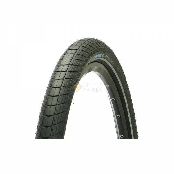 Покрышка Schwalbe 28x2.00 (50-622) BIG APPLE HS430 KevlarGuard B/B+RT SBC 50EPI черная