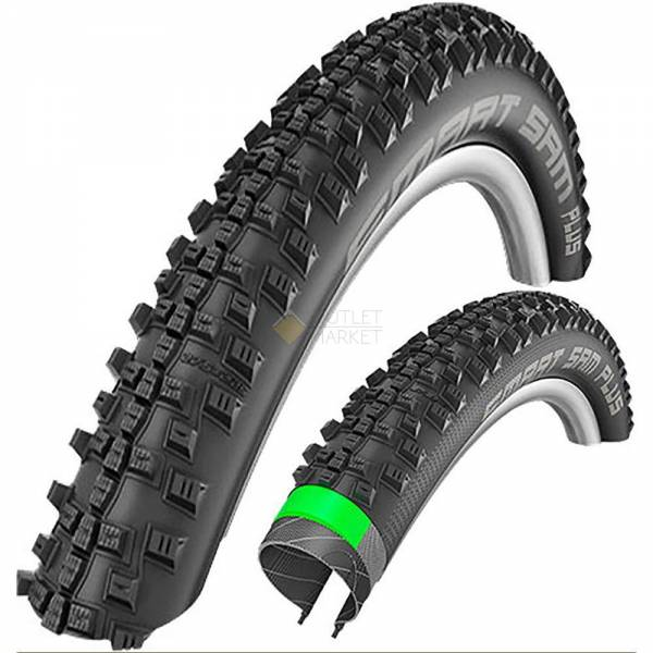 Покрышка Schwalbe 27.5x2.25 650B (57-584) SMART SAM PLUS GreenGuard,SnakeSkin Performance B/B-SK HS476 Addix 67EPI 35B