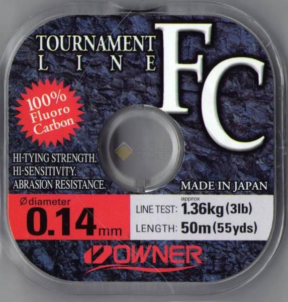 Леска Owner TOURNAMENT FC 50м