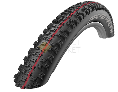 Покрышка Schwalbe 29x2.35 (60-622)  RACING RALPH SnakeSkin, TL-Easy, Folding , Evolution, B/B-SK HS425 Addix Speed 67EPI EK