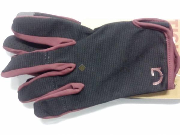 Перчатки Green Cycle Punch с длинными пальцами черно-красные