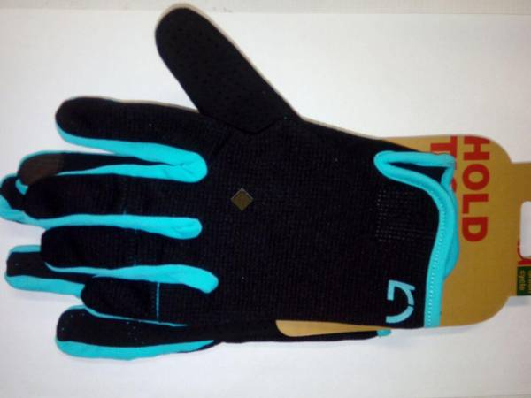 Перчатки Green Cycle Punch с длинными пальцами черно-синие