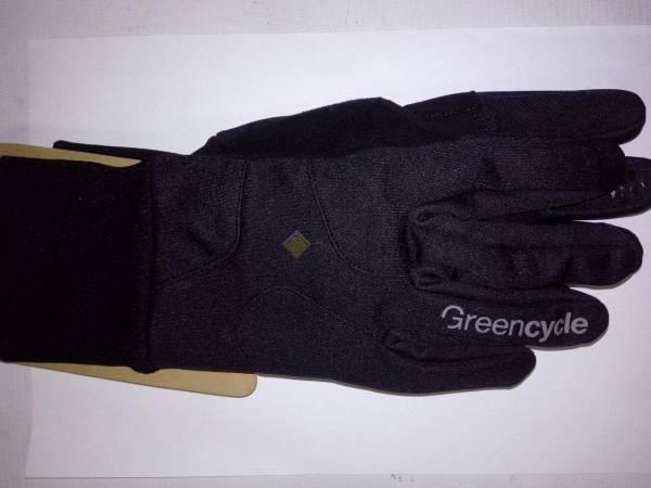 Перчатки Green Cycle Tourer зимние черные
