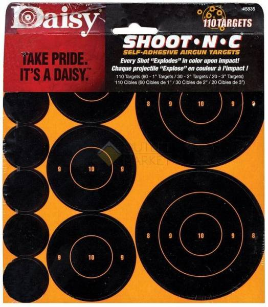 Мишени Daisy Shoot-N-C 110шт