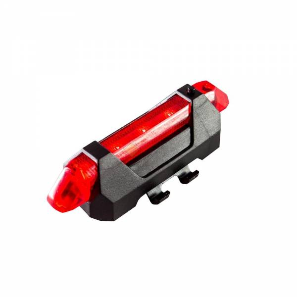 Фонарь задний LMN918RED Красный USB зарядка