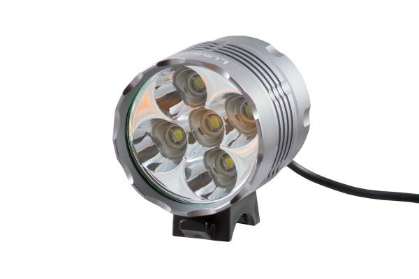 Фонарь передний Lumen 305 6000 lumens 5 Cree XML-T6 15 серый