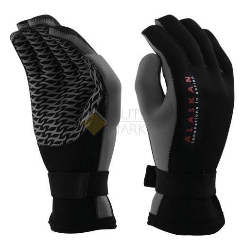 Перчатки неопреновые Alaskan черно/серый