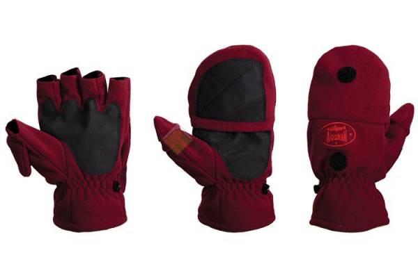 Перчатки-варежки Alaskan Colville бордовый