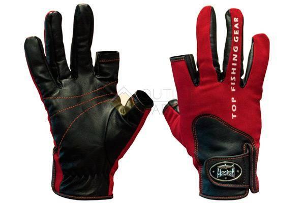 Перчатки спиннингиста Alaskan двухпалые