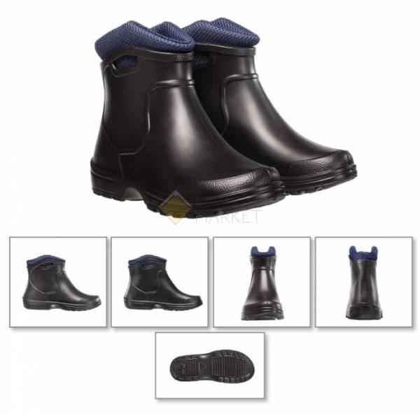 Ботинки Torvi City со вставкой черные