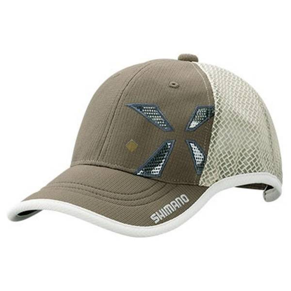 Кепка Shimano XEFO WIND-FIT Half Mesh Cap