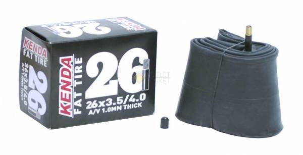 Камера KENDA 26 авто д/FAT BIKE 3,50-4,00 (86/98-559) усил. толщ. стенки 1,0мм