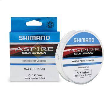 Леска SHIMANO Aspire Silk Shock 150м прозрачная
