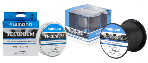 Леска SHIMANO Technium 200м черная