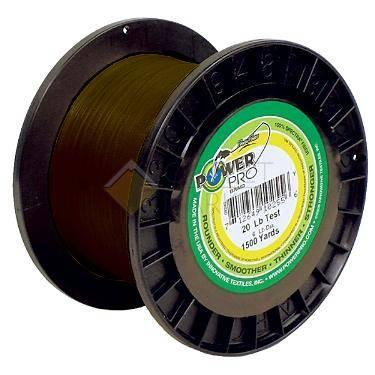 Леска плетеная POWER PRO 1370м зеленая