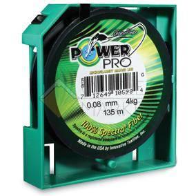 Леска плетеная POWER PRO 92м зеленая